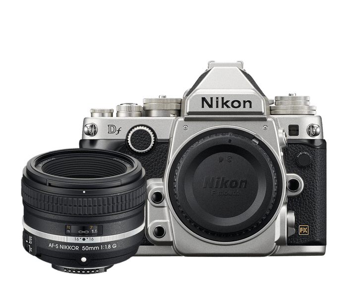 Photo of Nikon Df Special Edition Lens Kit Silver