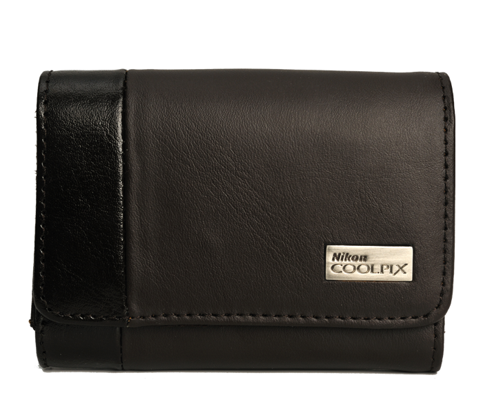 Photo of Nikon COOLPIX Slim Brown Leather Case