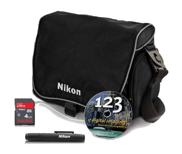 Photo of  Nikon Digital SLR Accessory Kit