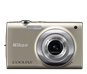 Silver  COOLPIX S2500