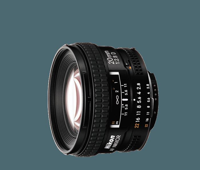 AF Nikkor 20mm f/2.8D