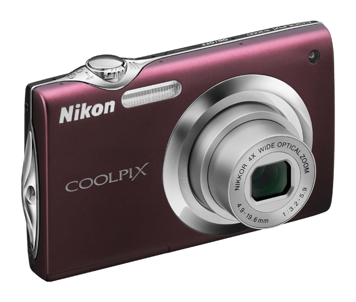 COOLPIX S3000 on digital optical audio cable at target