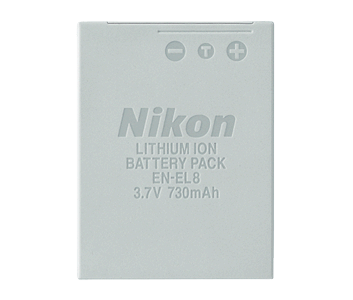 EN-EL8 Rechargeable Li-ion Battery