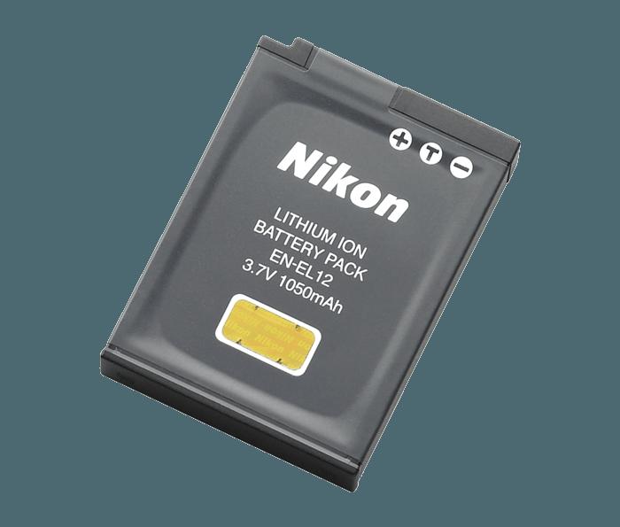 En El12 Rechargeable Battery From Nikon