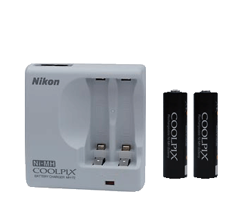 EN-MH2-B2/MH-72 Kit (2 Rechargeable Batteries + Charger)