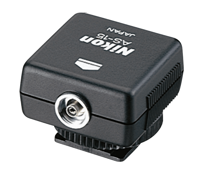 AS-15 Sync Terminal Adapter (Hot Shoe to PC) from Nikon