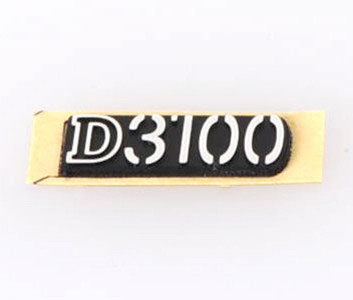 Photo of  D3100 Name Plate