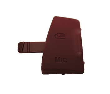 Photo of D3300 Microphone Cover Red
