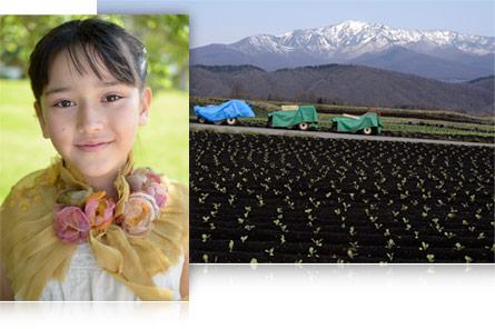 A portrait and landscape photo taken with AF-S DX Micro-NIKKOR 40mm f/2.8G