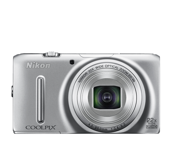 COOLPIX S9500 Silver