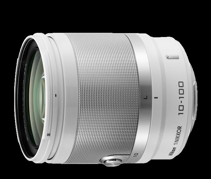 1 NIKKOR 10-100mm f/4.0-5.6 VR - White