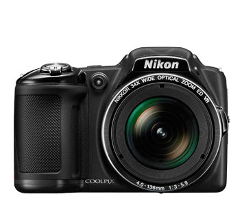The COOLPIX L830 from Nikon