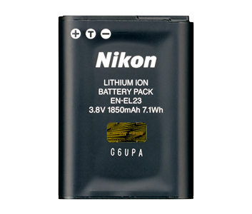 EN-EL23 Rechargeable Li-ion Battery
