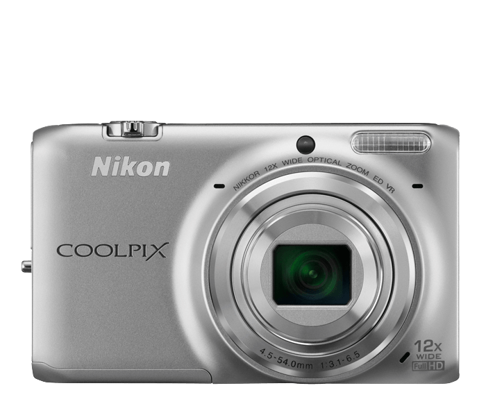 COOLPIX S6500 Silver