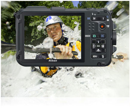 Nikon underwater camera is built as rugged as you are