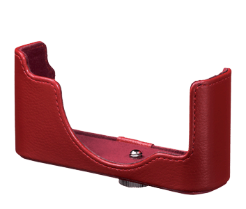 CB-N2000 Red Leather Body Case