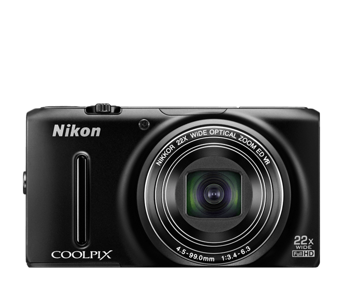 COOLPIX S9500 Black