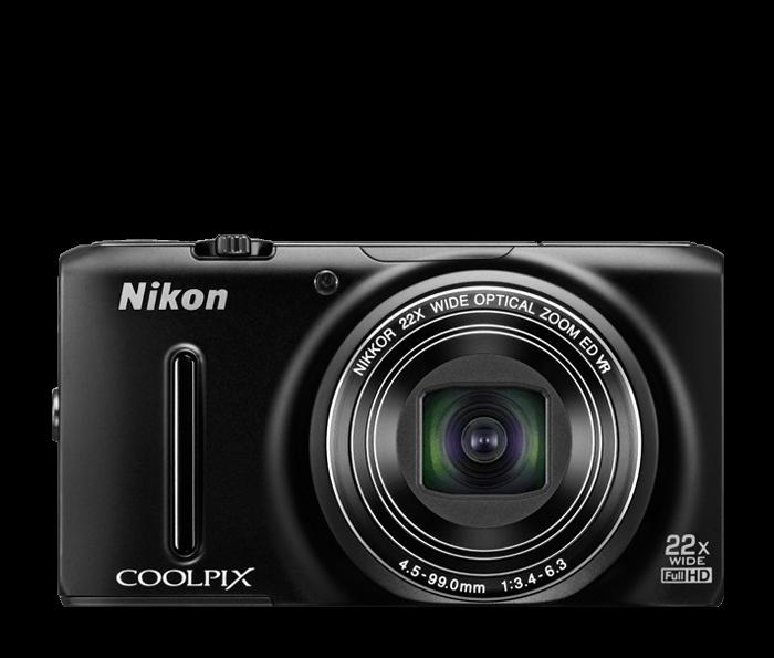 COOLPIX S9500 Black