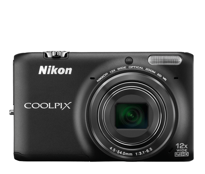COOLPIX S6500 Black