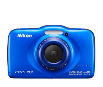 The COOLPIX S32 from Nikon