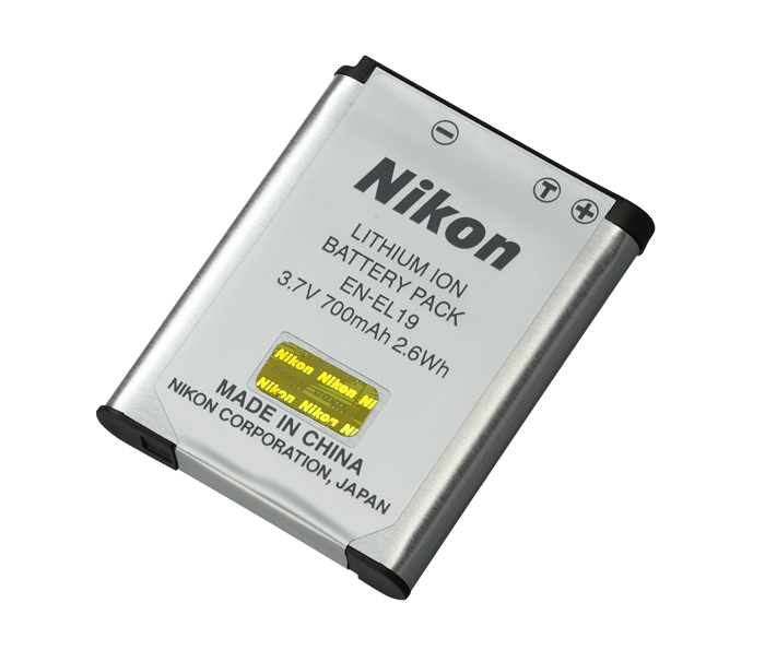 Buy New Nikon En El19 Rechargeable Lithium Ion Battery For