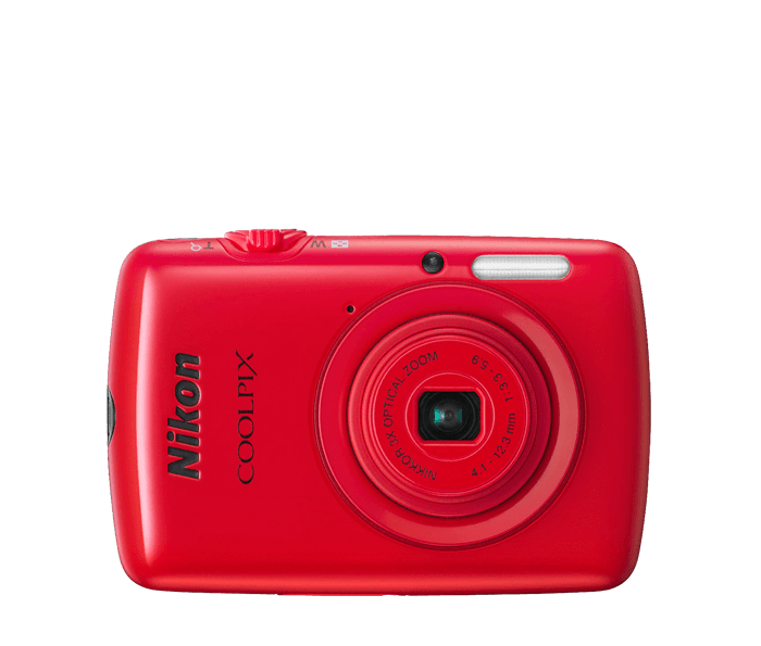 COOLPIX S01 Red