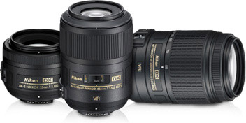 Expand your picture taking capabilities with Nikon's comprehensive lineup of NIKKOR lenses.