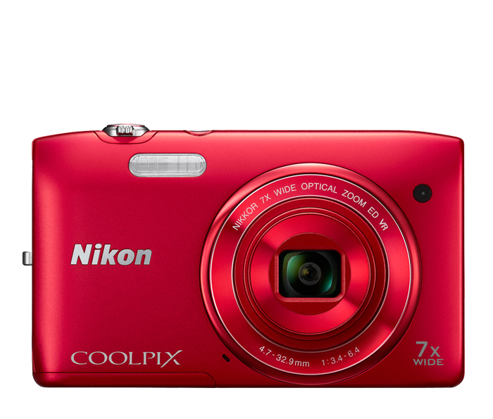 COOLPIX S3500 Red