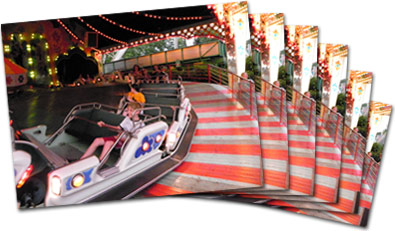 Sequence of photos demonstrating the COOLPIX S6300's fast continuous shooting.