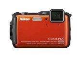 The Waterproof, Shockproof and Freezeproof Nikon COOLPIX AW120 is an Exciting Option for Those Who Want to Take Photos When They're in the Action, Instead of Watching It