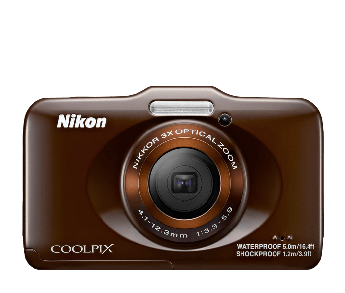 COOLPIX S31 Brown