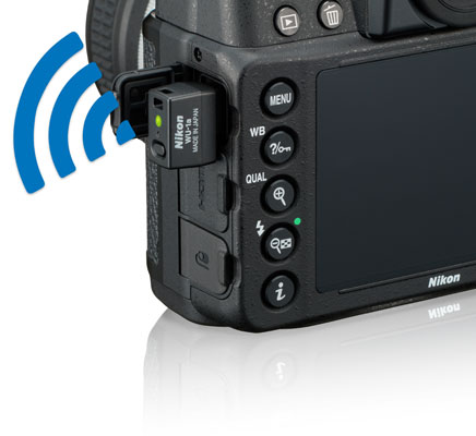 Nikon Df and WU-1a wireless mobile adapter