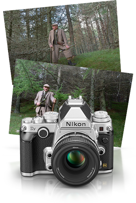 Nikon Nikon Df - Silver Special Edition Lens Kit