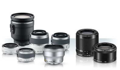 photo of 1 NIKKOR lenses