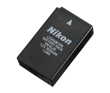 EN-EL20 Rechargeable Li-ion Battery | Camera Battery