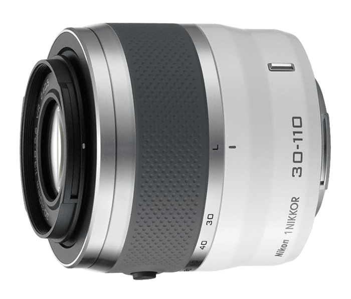 1 NIKKOR 30-110mm f/3.8 – 5.6 VR White