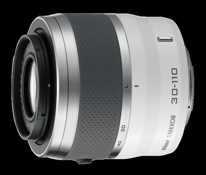 1 NIKKOR 30-110mm f/3.8 – 5.6 VR White
