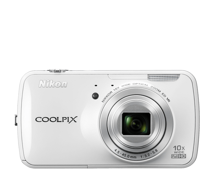 COOLPIX S800c White