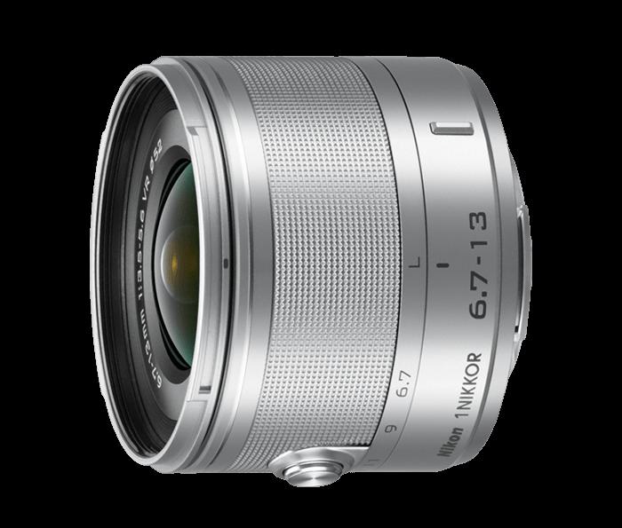 1 NIKKOR 6.7-13mm f/3.5-5.6 VR - Silver