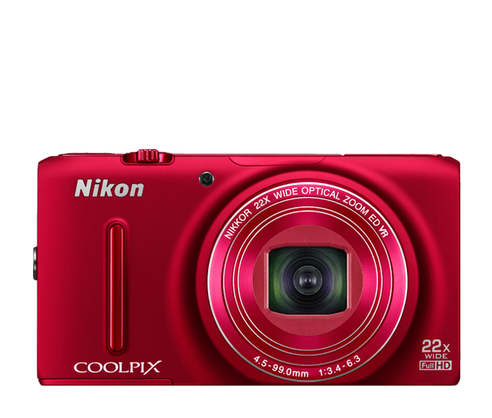 COOLPIX S9500 Red