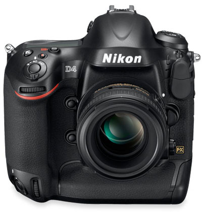 Description: The Nikon D4 is intelligently designed for maximum control and an efficient workflow