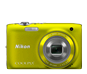 Yellow  COOLPIX S3100