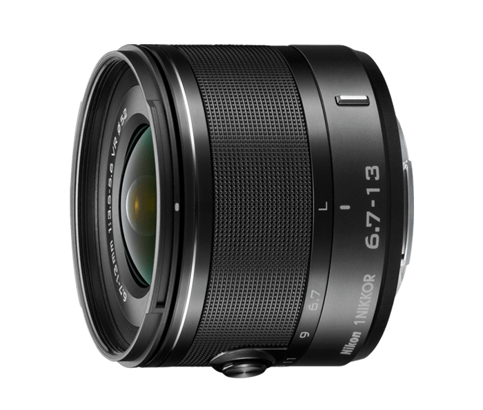 1 NIKKOR 6.7-13mm f/3.5-5.6 VR - Black