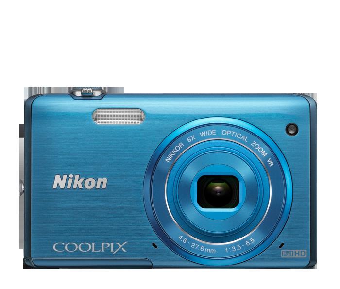 COOLPIX S5200 Blue
