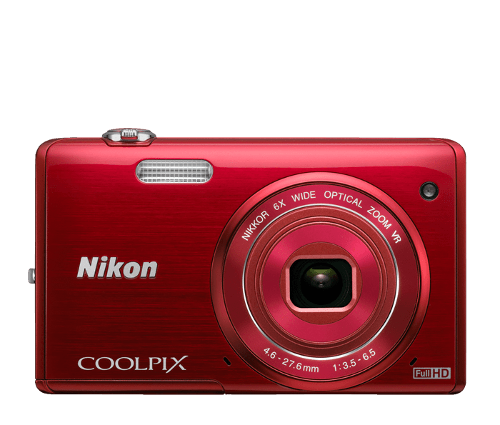 COOLPIX S5200 Red