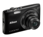 Black  COOLPIX S3100