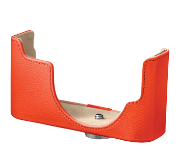 CB-N2000 Orange Leather Body Case
