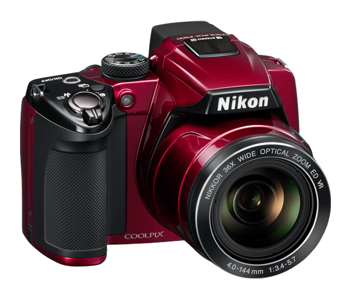 ...модель Nikon P500 оснащена 36-кратным зумом.  До этого самым...