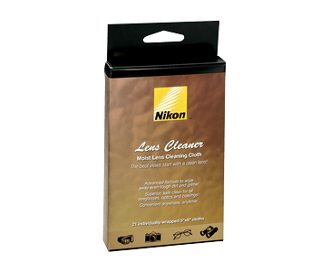 Lens Cleaner Wet Cloth8175