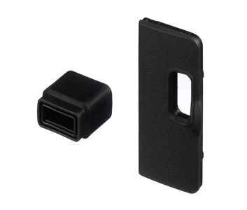 UF-3 Connector Cover for stereo mini plug cable